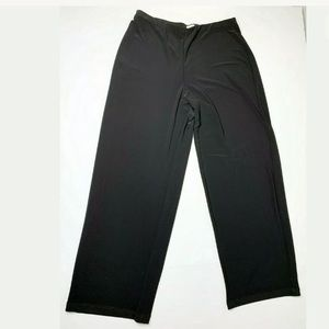 Sympli black wide leg pants